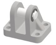 Picture of rectangular swivel flange
