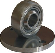 Picture of swivel flange with spherical bearing for anti-corrosive - hygienic clean cylinders