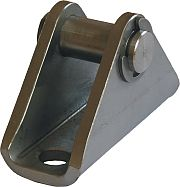 Picture of narrow swivel flange for anti-corrosive - hygienic clean cylinders