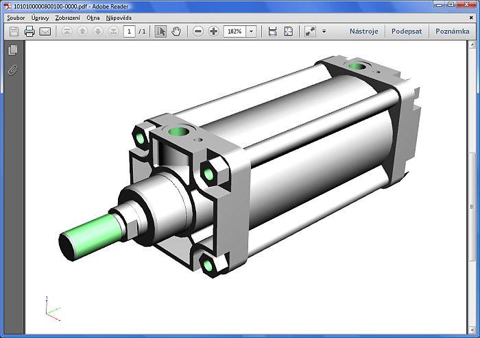 3D model v PDF